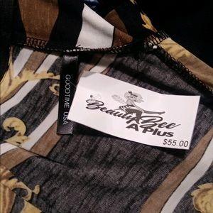 Dresses - Long Line Bodycon Dress NWT Size 3X